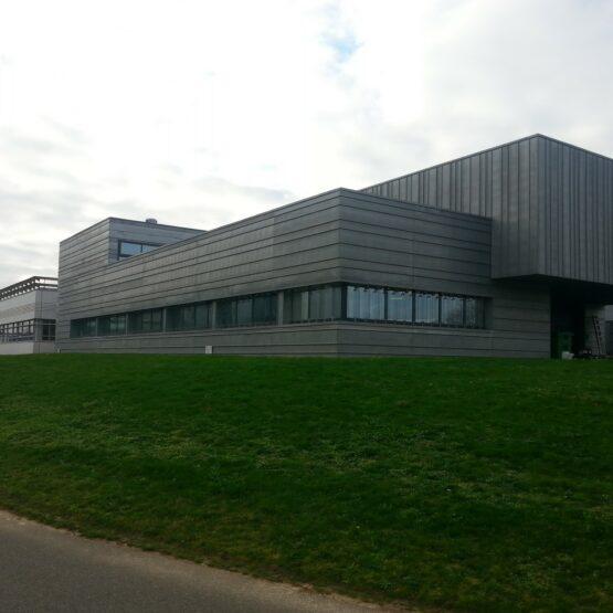 Façade extérieure usine Expanscience
