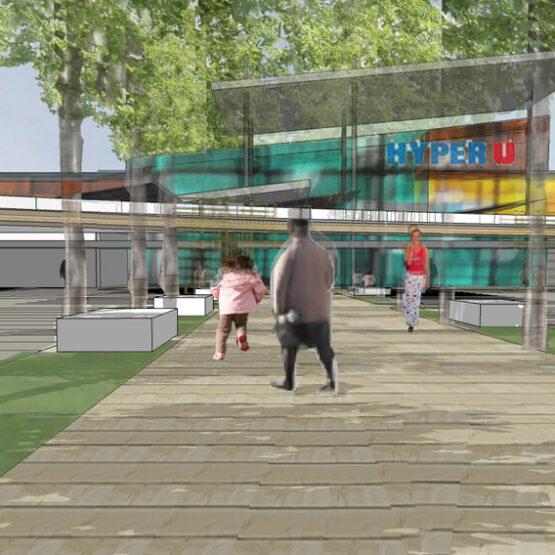 futur centre commercial Retail Park Challans