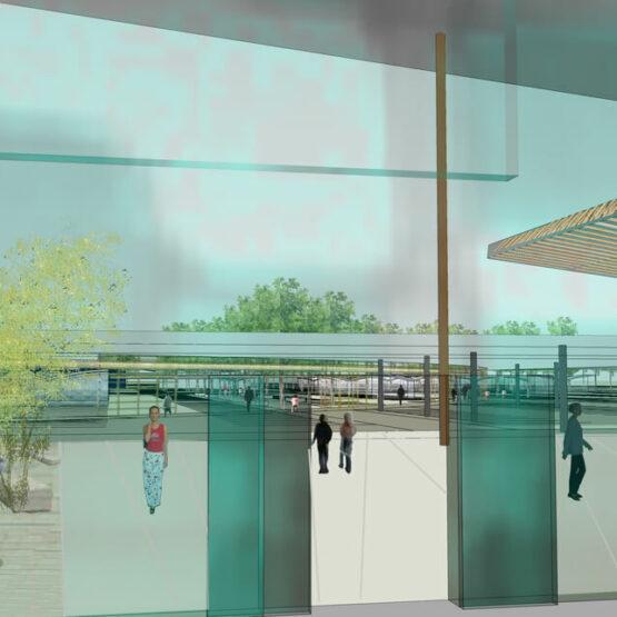 Projet construction retail Park Challans