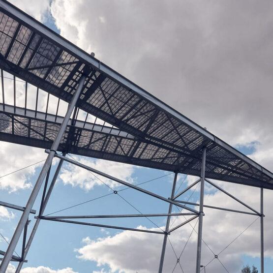 Architecture chaufferie biomasse Genevilliers