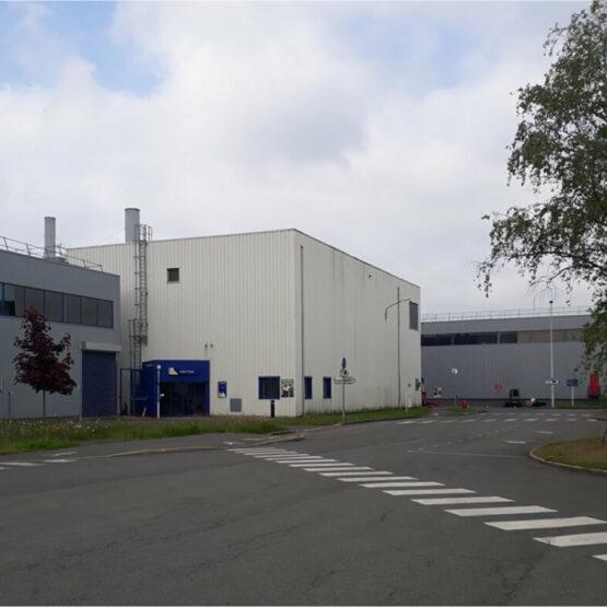 façace extérieure Chaufferie vapeur Michelin