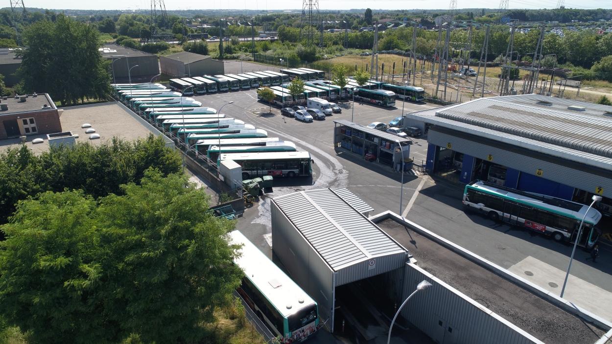 GNV Elcimaî Equipe la RATP