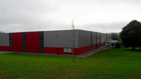 Site industriel cosmétique Nuxe à Lecousse