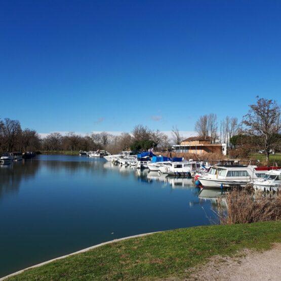 Bord du canal de Montauban