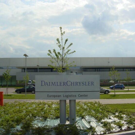 façade plateforme Daimler Chrysler