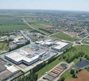 vue aérienne site de production Fleury Michon