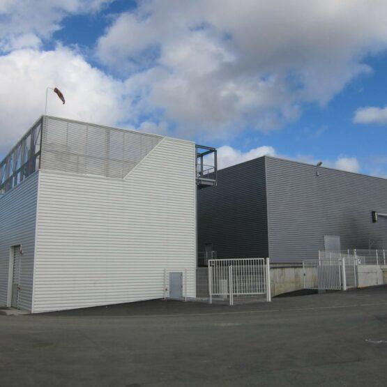 Façade extérieure usine Fleury Michon