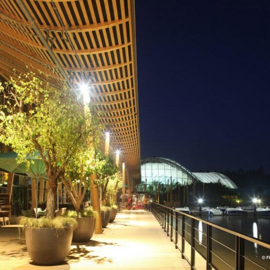 Center Parcs Hattigny de nuit