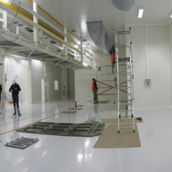 Intérieur site de production IRAS Michelin
