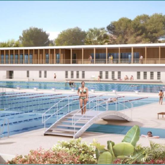 piscine d'Antibes-Juan-les-Pins
