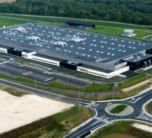 Vue aérienne site de Safran Commercy