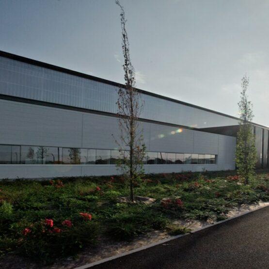 extérieur usine Safran Commercy