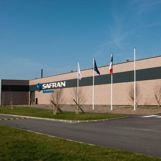 bâtiment industriel aéronautique Safran