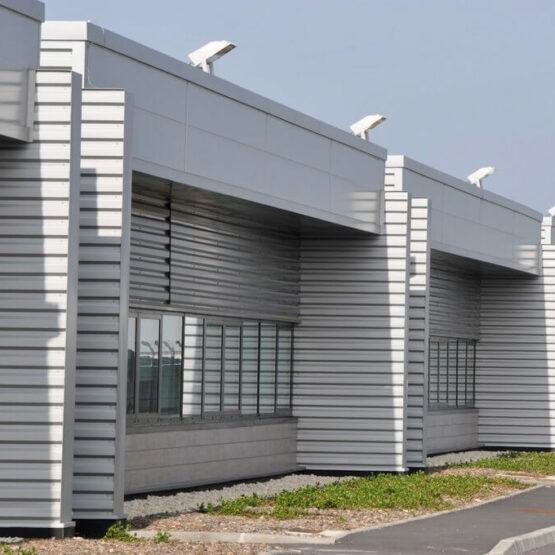 Façade extérieure usine Safran Turbomeca
