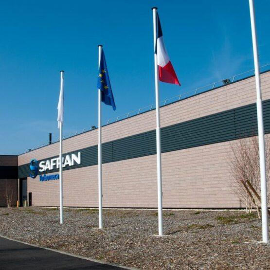 Façade usine Safran Turbomeca