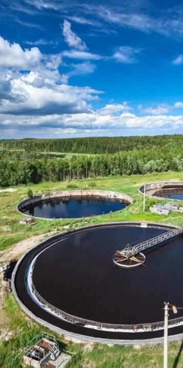 Secteur Eau Domaine traitement des effluents