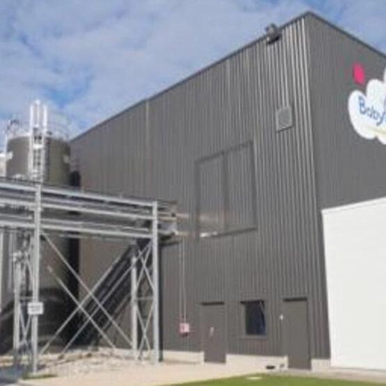 bâtiment de production lait Babydrink