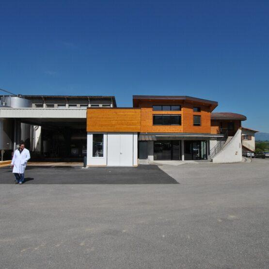 Site de production fromagerie La Dent du Chat