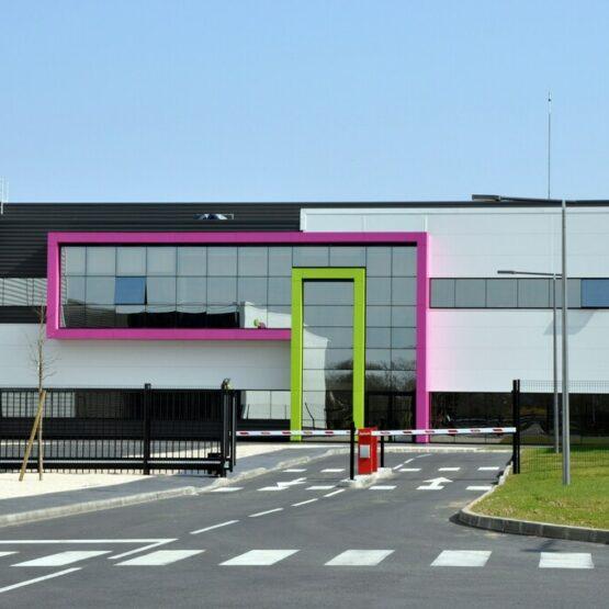 Façade principale site production biocodex