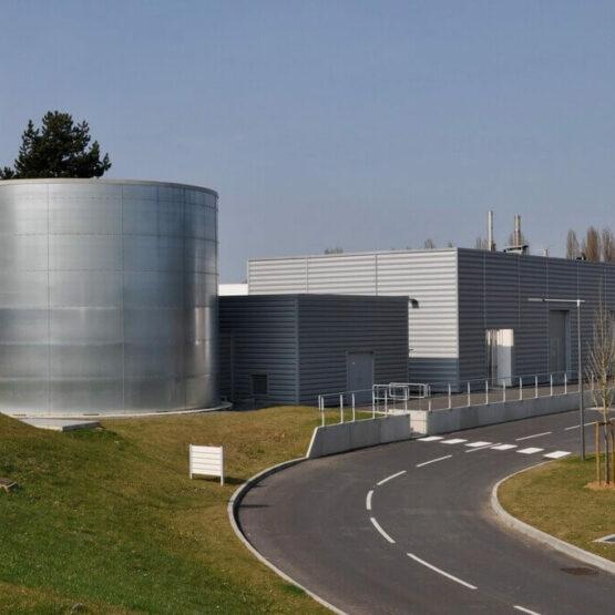 bâtiment industriel pharmaceutique biocodex