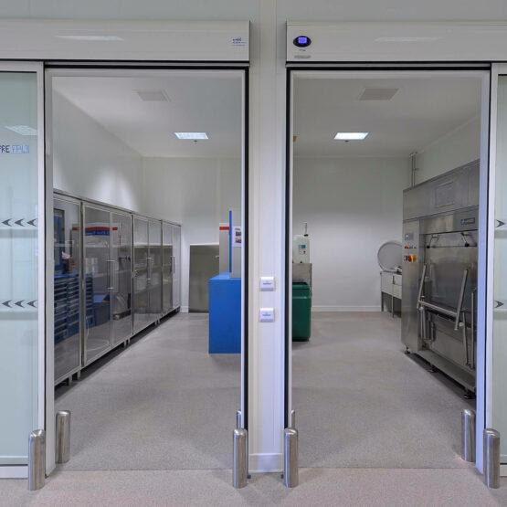 portes usine fabrication cosmétique Guerlain