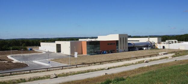 Centre de tri - CALITOM - Sainte-Sévère