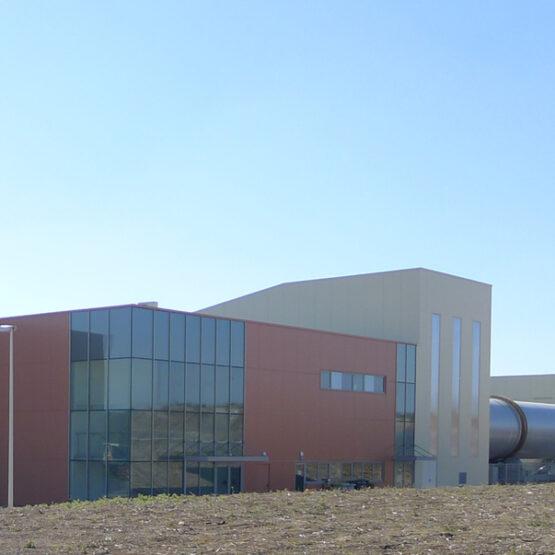 Centre de tri décherts - CALITOM - Sainte-Sévère