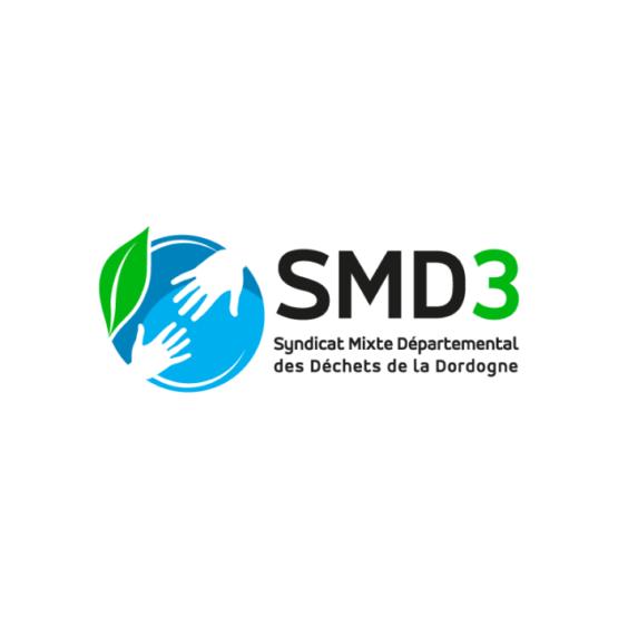 SMD3 logo - Gestion des déchets Dordogne