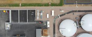Unité de production de biomethane Moret-Loing-et-Orvanne